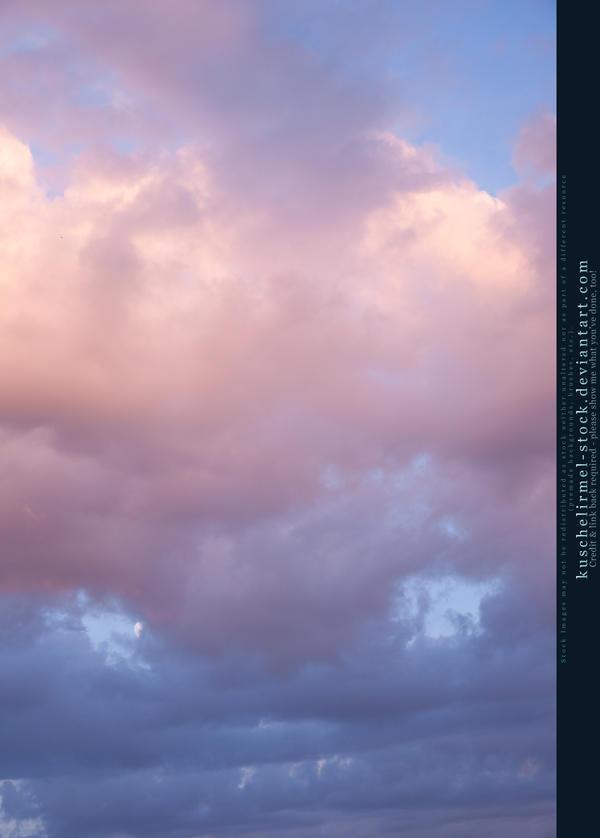 Cloudy Sky Stock by kuschelirmel-stock