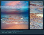 Ocean View Premade Background