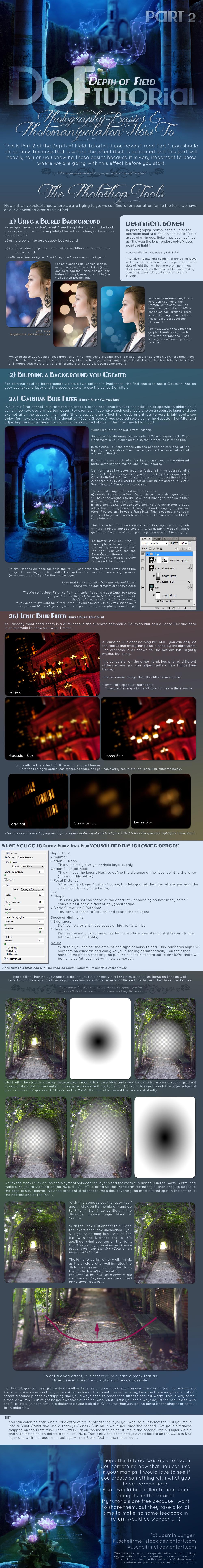 Depth of Field Photomanipulation Tutorial Part 2