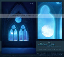 Abbey Blue - Premade Background by kuschelirmel-stock