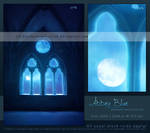 Abbey Blue - Premade Background