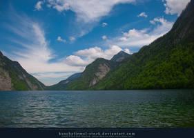 Alpine Lake - Clear Water - Mountains 02 by kuschelirmel-stock