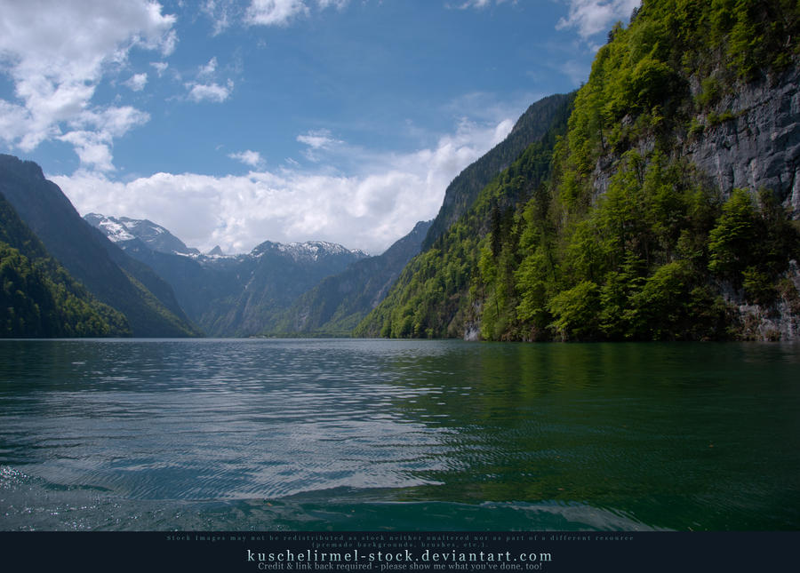 Alpine Lake - Clear Water - Mountains 01