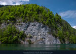 Alpine Lake - Clear Water - Cliff 03