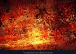 Grunge on Fire Texture
