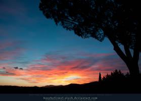 Sunset over Tuscany 04
