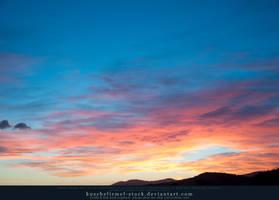 Sunset over Tuscany 01