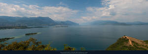 Lago di Garda Panorama