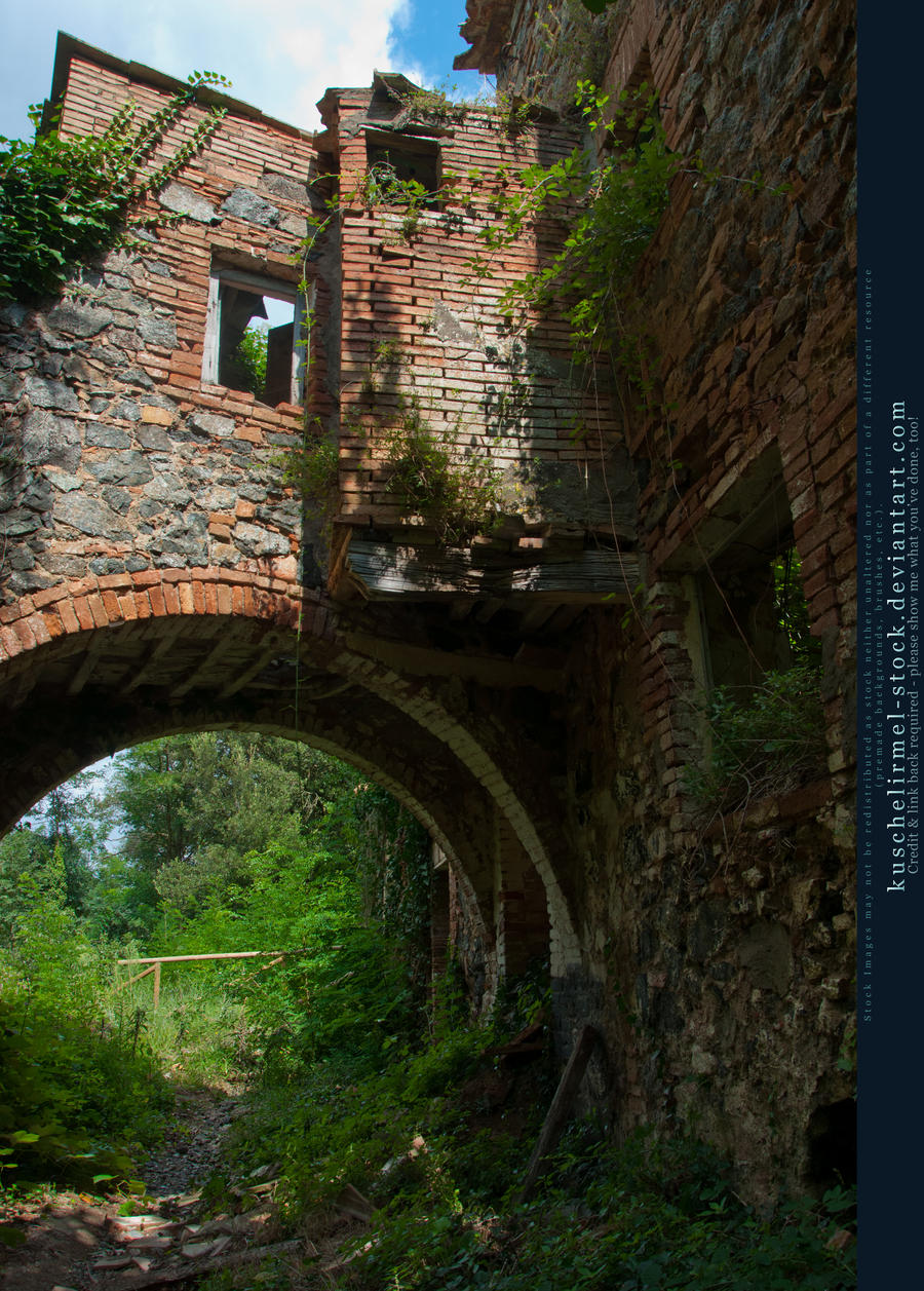 Old Bath House 05 by kuschelirmel-stock