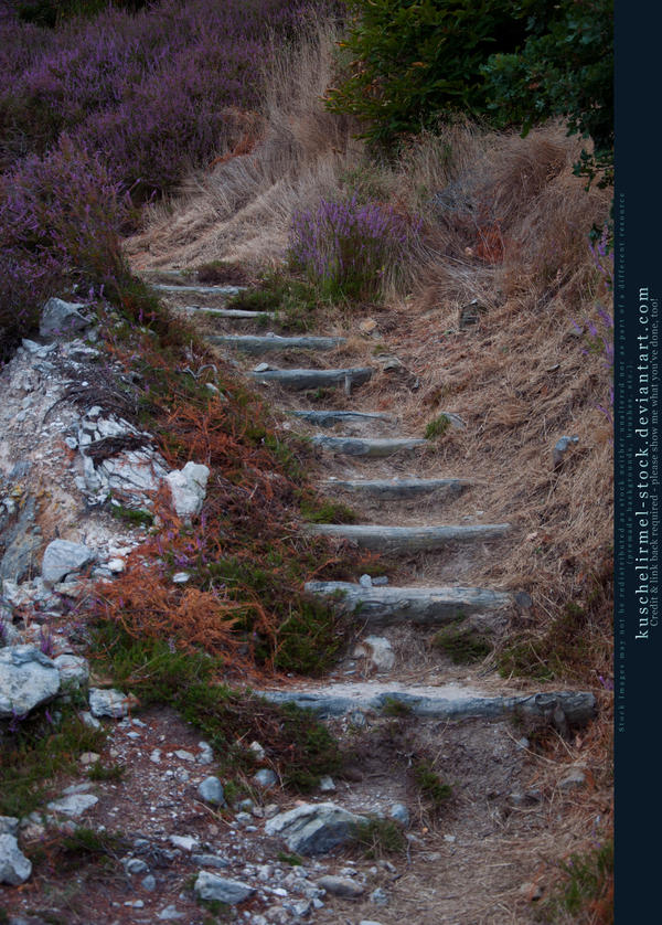 Stairs and Stones 05 by kuschelirmel-stock