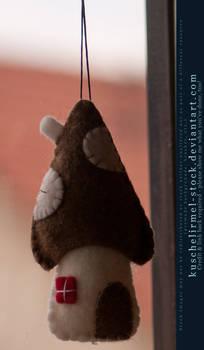 Christmas Ornaments - Felt House