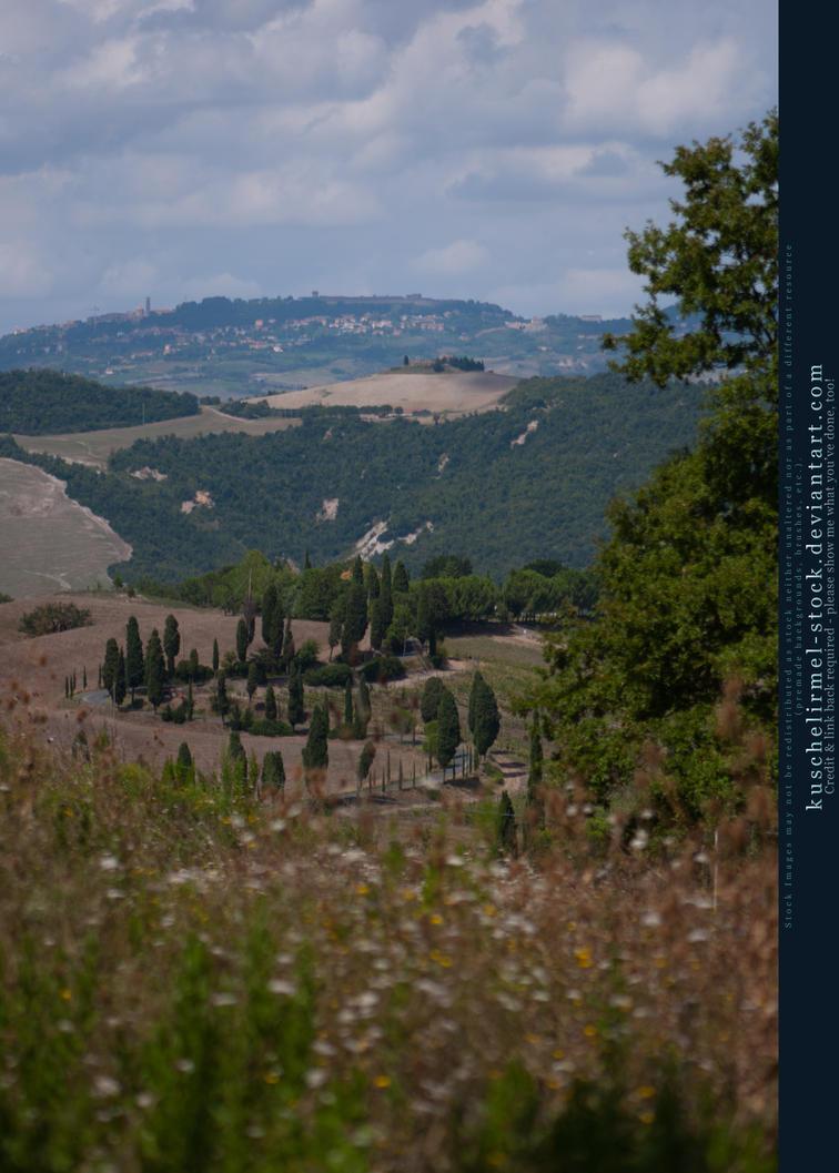 Tuscan Hills 08 by kuschelirmel-stock