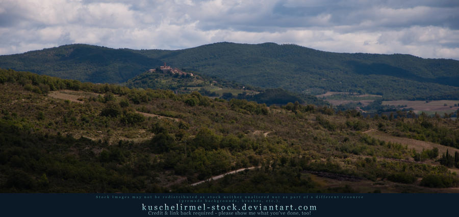 Tuscan Hills 07 by kuschelirmel-stock