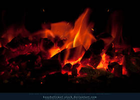 Burning Coal 09 by kuschelirmel-stock