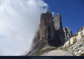 Tre Cime Dolomites 01 by kuschelirmel-stock