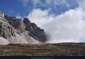 Tre Cime Dolomites 02 by kuschelirmel-stock