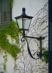 Iron Lamp on Wall