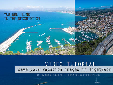Lightroom Basics - save your vacation images