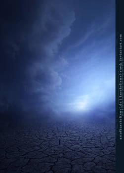 Cracked Earth - New Blue Premade BG