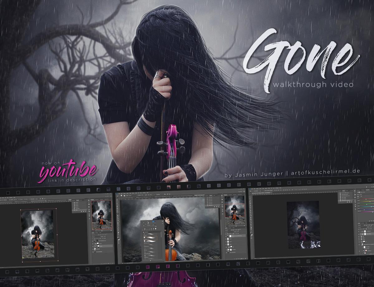 Gone - Photomanipulation Walkthrough