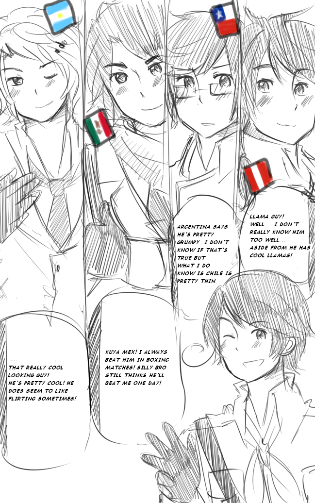 HetaliaPH: Thoughts on Latin America 1 by SPINNY-chair-HERO