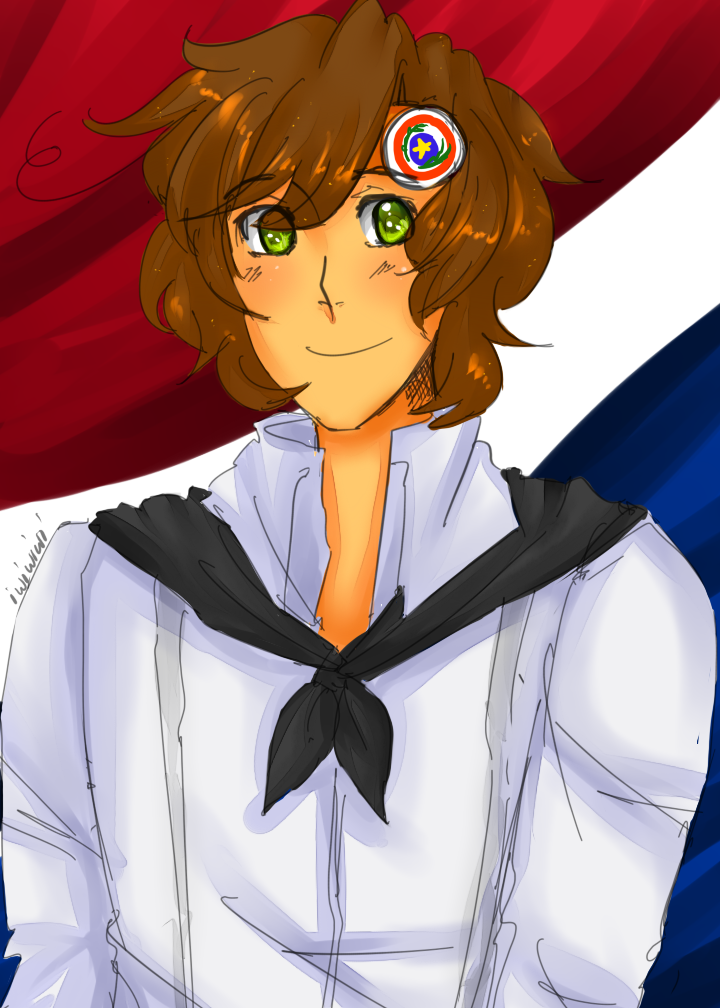 Latin Hetalia - Late HBD Paraguaaaayyyyy by SPINNY-chair-HERO