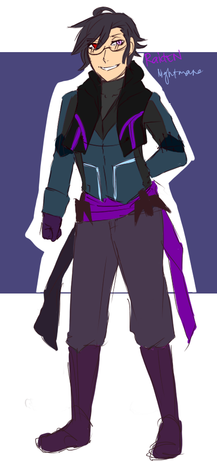 Phantom Soul OC: RaidEN by SPINNY-chair-HERO