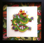 Quilled Dragon of Good Fortune