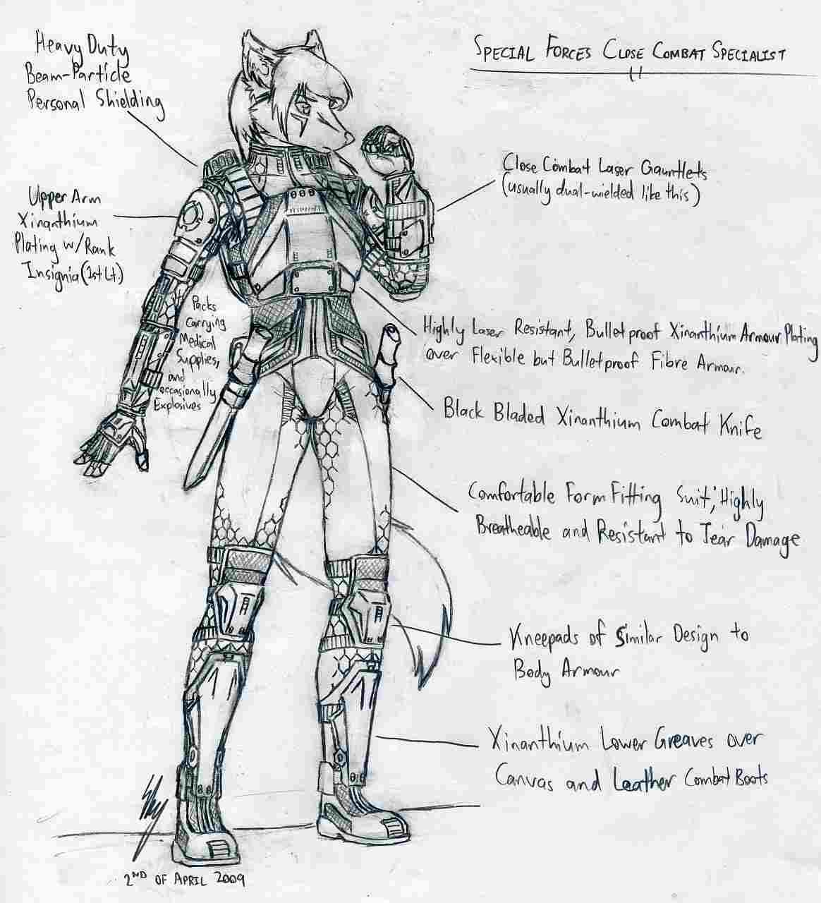 Cassandra Spec Ops Uniform by SkyWhiteFox