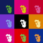 Gabe Newell Andy Warhol Style