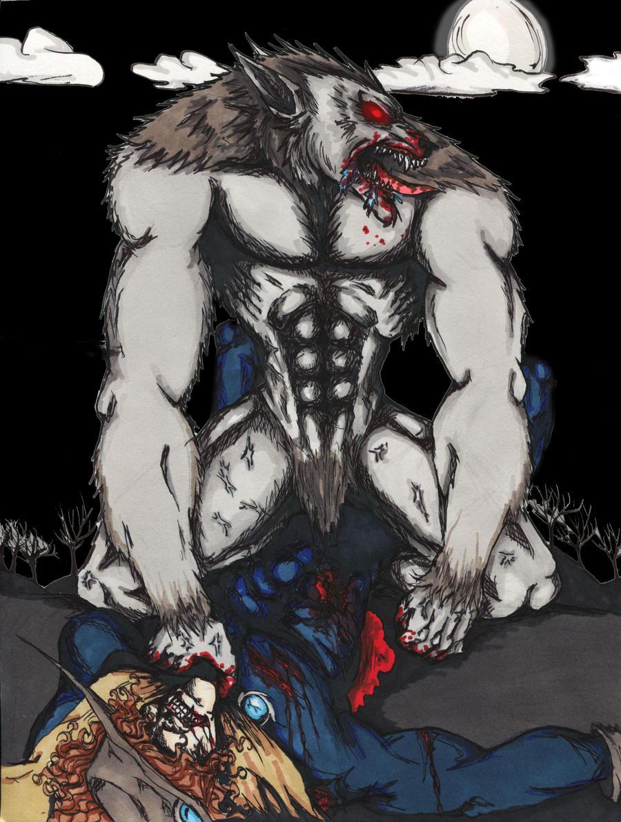 Werewolf fucks 3d babe fucks girlfriends
