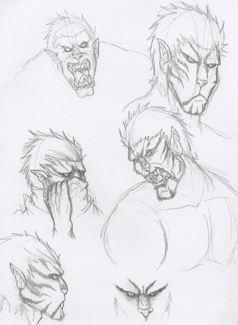 Korthin Doodles by Demorta