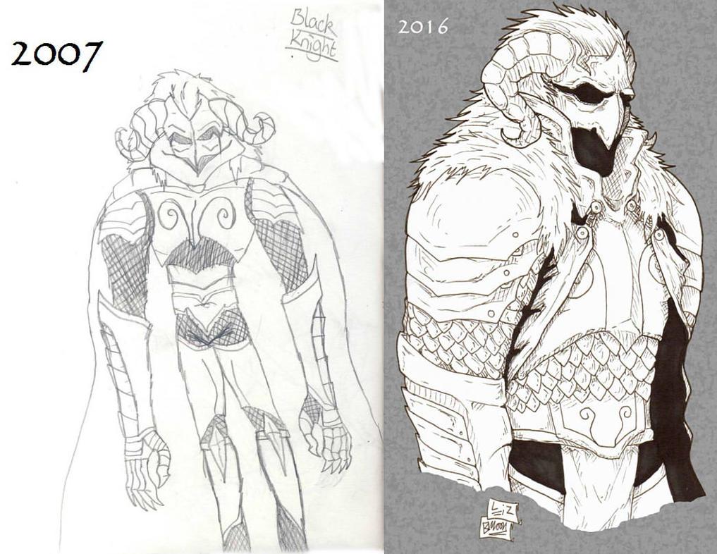 Dark Knight Comparison  by Demorta