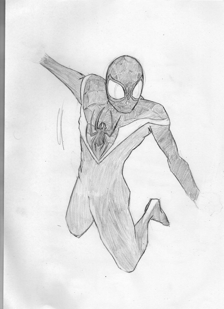 spiderman coloring pages miles morales - photo#12