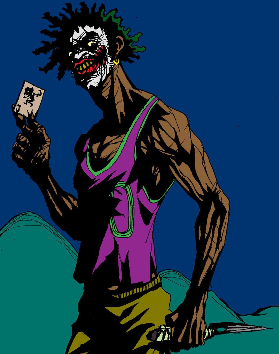 slum joker by lucassobotta