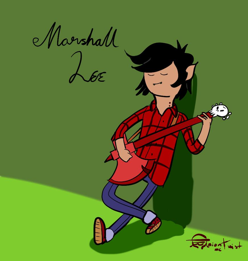 Marshall lee by onionmctwist