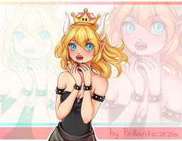 Bowsette [FanArt by Brillantezza] by Brillantezza