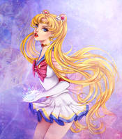 Sailor Moon - Usagi Tsukino - Super S by Brillantezza