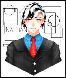 [C] Nathan by DarklightDemond
