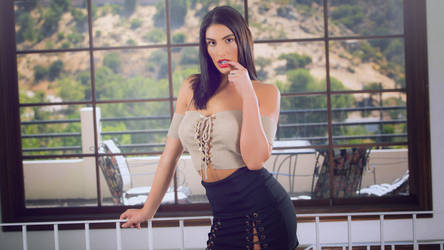 August Ames Vintage Wallpaper by LaunchLook