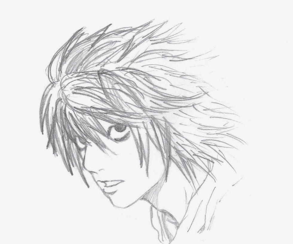 Death Note Coloring Pages Sketch Coloring Page
