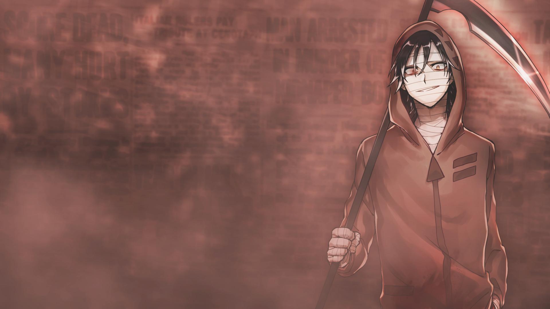 Angels Of Death Anime Wallpaper Zack By Chromha On Deviantart