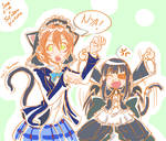Love Live x Senran Kagura - Rin x Mirai