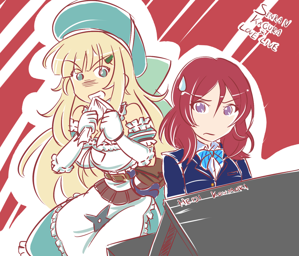 Love Live x Senran Kagura - Maki x Yomi by Heiji-Koumori on DeviantArt