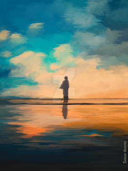Digital painting - scenic