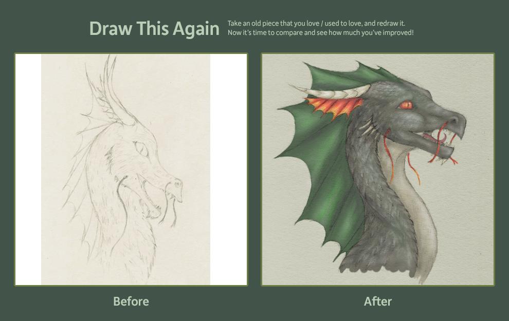 Spiky Dragon, 2010-2012 by Imbecamiel