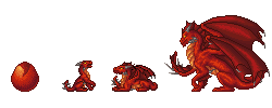 Full Set - Royal Crimson Dragons by Imbecamiel