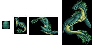 Full Set - Costal Leviathans by Imbecamiel