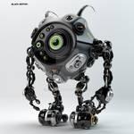 Beetle-like robotic creature