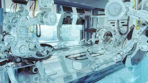 Futuristic laboratory by Ociacia